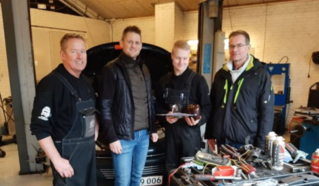 "Hurra – ""vi"" har Danmarks bedste mekaniker"